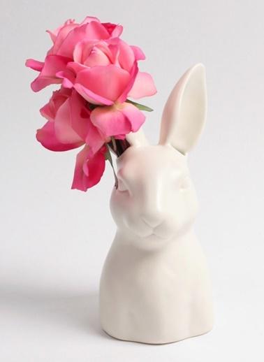 Tavşan Motifli Dekoratif Obje-Warm Design